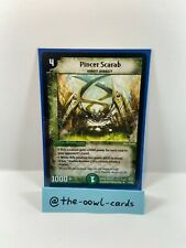 Duel Masters Card - Pincer Scarab - DM-12, English, NM, Rare