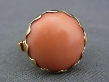 schöner alter Ring 585/-Gold mit Koralle ca.20er Jahre