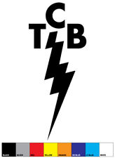ELVIS PRESLEY 'TCB' Taking Care of Business sticker
