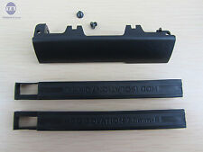 New Hard Drive Caddy Cover + 7mm Isolation Rubber Rails for Dell Latitude E6540