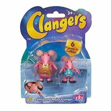 Clangers Collectible Figure Pack with Small and Major Clanger Toy Figures