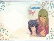 Loveless - Clear Plastic Lami Idol Card 0704C - Ritsuka & Soubi Manga Art
