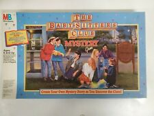 The Baby Sitters Club Mystery Game Milton Bradley 1992 Vintage family game!