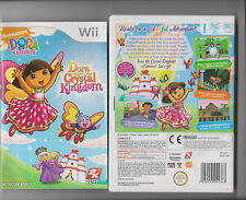 Dora Salva Il Regno Di Cristallo NINTENDO WII Bambini Dora Explorer