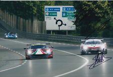 Dumas, Bernhard, Muller Hand Signed Porsche 12x8 Photo 2018 Le Mans 1.