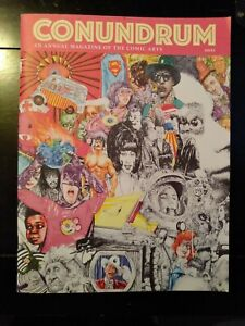 2020 new Conundrum Press magazine of the Comic Arts feature indies NM