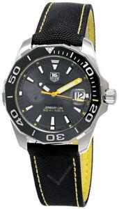 New Tag Heuer  Aquaracer Calibre 5 Anthracite dial Men's Watch WAY211F.FC6362