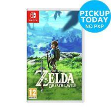 Legend of Zelda: Breath of the Wild Nintendo Switch Game 12+ Years