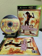 Dance Dance Revolution Ultramix 3 (Microsoft Xbox, 2005) Complete CIB
