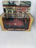 Rare 1999 Road Champs Classic Scenes 1956 Ford F-100 Truck Texaco 1-43 Scale NIB