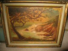"""Signed Fred Lafferty Monterey Seascape 14"""" x 18"""" Gorgeous"""