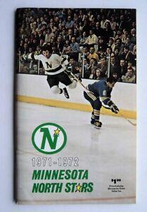 1971-72 Minnesota North Stars Media Guide MINT -  FLASH SALE