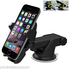 360° Adjustable One Touch Multi-angle Mobile Phones GPS Car Mount Stand Holder