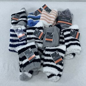 West Loop Cozy Fuzzy Socks Women's Size 4-10 Lot of 12 New with Tags