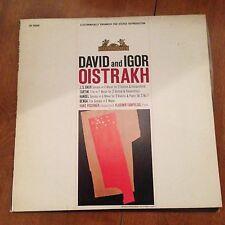 David And Igor-Oistrakh-J.S. Bach-Tartini-LP-Heliodor-HS25009-Vinyl Record