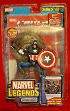 NEW Marvel Legends Ultimate Captain America Series VIII Trading Card Book Toybiz