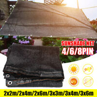 Garden Sunscreen Net Sunblock Shade Net Plant Car Cover Outdoor Anti UV Sunshade