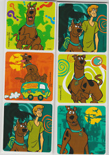 """25 Scooby Doo Haunted Stickers, 2.5"""" x 2.5"""" each, Party Favors"""