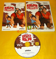 RALPH SPACCATUTTO Nintendo Wii Versione Italiana 1ª Edizione ○○○○ USATO - BN