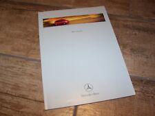 Catalogue  / Brochure MERCEDES BENZ Classe A / A Class 1998 //