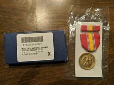 National Defense Service Metal Set - new in box
