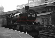 PHOTO  GWR 7912 LITTLE LINFORD HALL AS ABOVE BUT LIGHT ENGINE AT NOTTINGHAM VICT