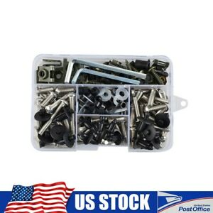 Complete Fairing Bolts Screw Stainless Steel For Honda CBR125R 250R 600F2 F3 F4