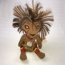 """The Lion King Broadway Musical SIMBA 12"""" Stuffed Costume Doll Disney Cloth Toy"""