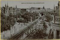 762: AK Postkarte Berlin Hochbahn Nollendorfplatz gelaufen 1909
