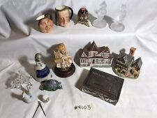 Vintage Estate Collectibles Lot #V003 1940s-90s Figurines Goebel Sandland 15pcs