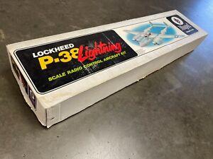 Royal's The Lockheed P-38 Lightning R/C Model Airplane kit