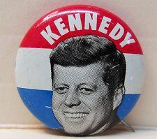 "1960 JFK KENNEDY for president 1"" tin litho  pinback John Fitzgerald"
