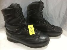 Used Karrimor Genuine Cold Wet Weather Black Combat Boots Male UK 12W #1628