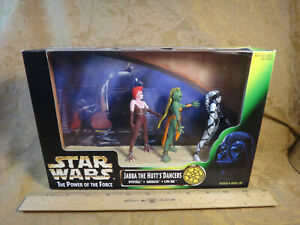 Star Wars The Power Of The Force Jabba's Dancers - Rystall - Greeata - Lyn Me