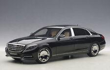 AUTOART MERCEDES BENZ MAYBACH S CLASS S600 BLACK 1:18 *New Item!