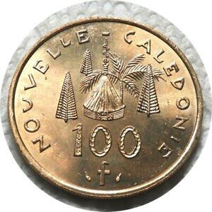 elf New Caledonia French 100 Francs 1984 IEOM  Native Hut