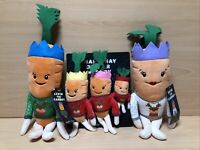 New 2020 Kevin The Carrot & Family Plush Bundle Soft Toys ALDI Christmas 2020