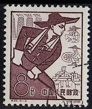 CHINA 1959 First Ann. of Peoples Communes Backyard Steel Production 8 f STAMP