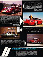1969 Fiberfab Avenger GT-12 VW Beetle - Vintage Advertisement Car Print Ad J389