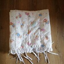 Peter Rabbit Cot Bumper Boys Girls Nursery Broderie Anglaise Trim Baby