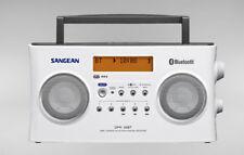 Sangean Bluetooth-Rechargeable-DAB/FM-RDS-Digital-Radio-DPR-26BT White+AUS WNTY