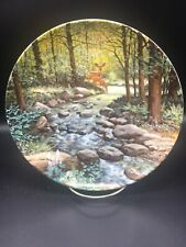 The Murmuring Stream Knowles 8 1/2 Inch Collector Plate ~
