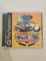 Pro Pinball BIG RACE USA (Playstation PS1) Complete CIB TESTED FREE S/H
