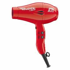 Parlux Advance Light Professional ionic hair dryer 2 nozzles 3 m. Cable Red