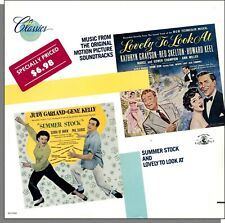 Summer Stock / Lovely To Look At (1986) - New Original Soundtracks LP Record!