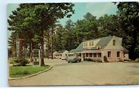 Danner's Motel Restaurant Virginia VA Cottages Postcard Old Vintage Card D22