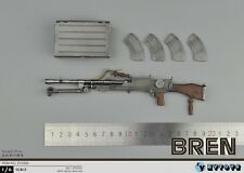 "ZY TOYS WWII British Army Bren light machine gun 1/6 Fit for 12"" actIon figure"