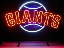 "New York Giants Neon Light Sign 24""x20"" Lamp Bar Man Cave Beer"