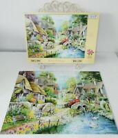 HOP House of Puzzles River Cottage Puzzle Jigsaw BIG 250 Piece COMPLETE