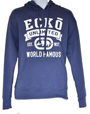 Ecko Mens Hoodie Pullover Hooded Jacket Top Huracan Kangaroo Pocket Sweatshirt